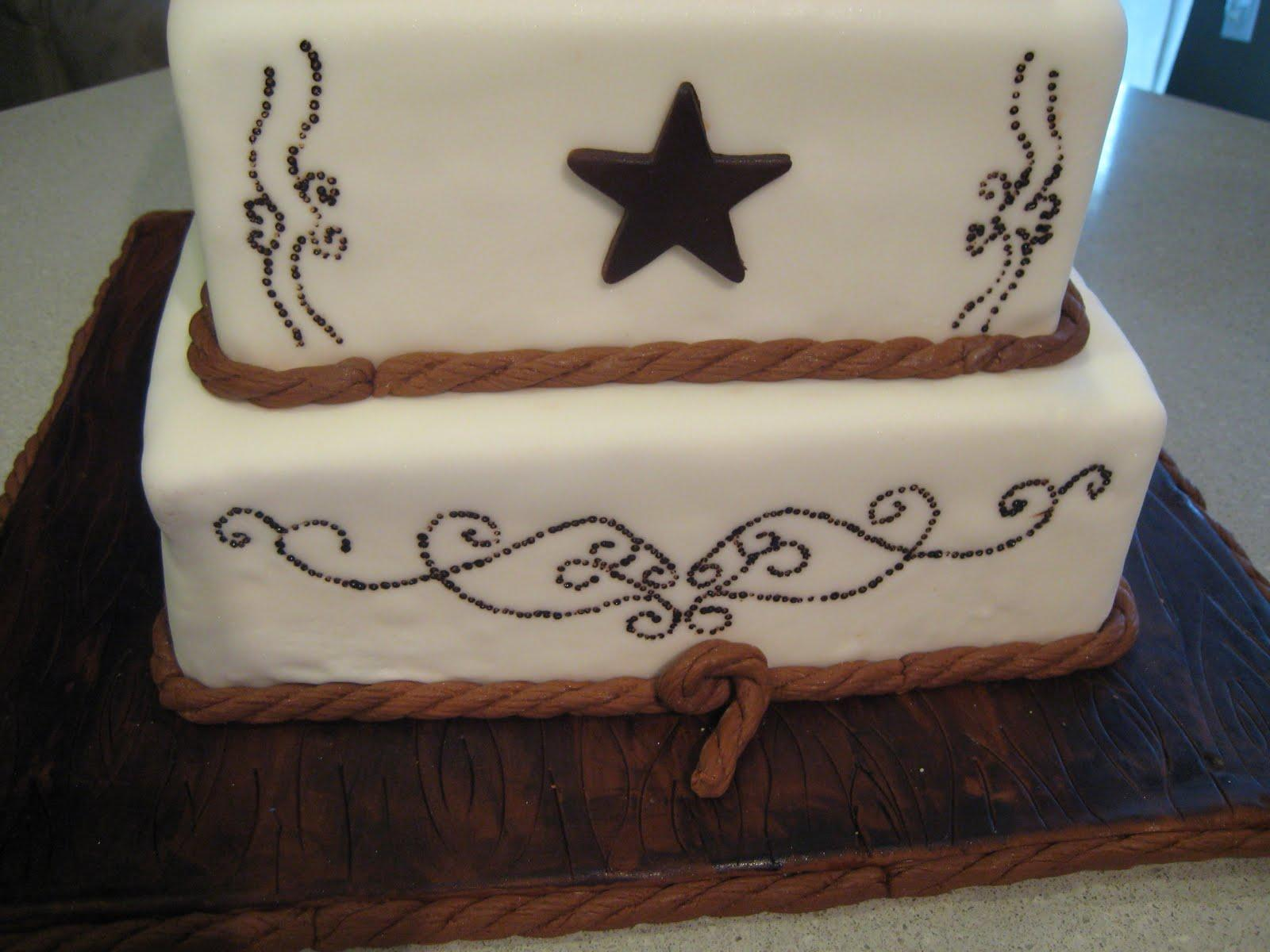 Country Western Wedding Cakes Viewing Gallery