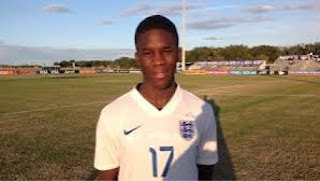 England Name Nigerian Starlet, Ugbo In U17 World Cup Squad