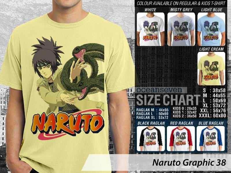 KAOS Naruto 38 Manga distro ocean seven