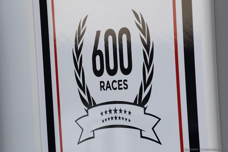 600-ая гонка Williams на Гран-при Великобритании 2013