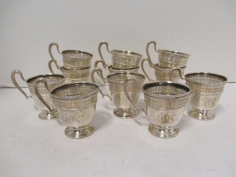 Sterling Teacup Set