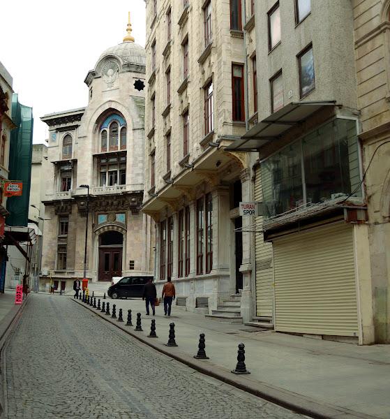 стамбул старый город улочка