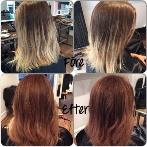 höstfärg hår 2016
