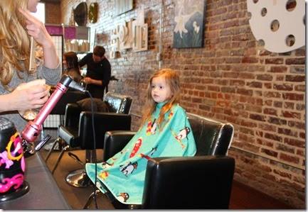Zoey's First Hair Cut