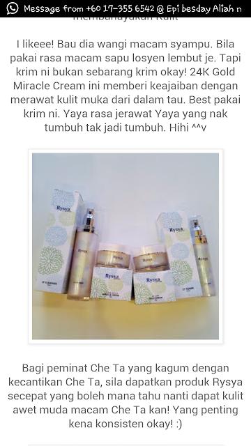 Produk Rysya Skincare