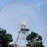 ferris wheel in yokohama in Yokohama, Tokyo, Japan