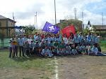 El Grupo Scout Anambro al completo