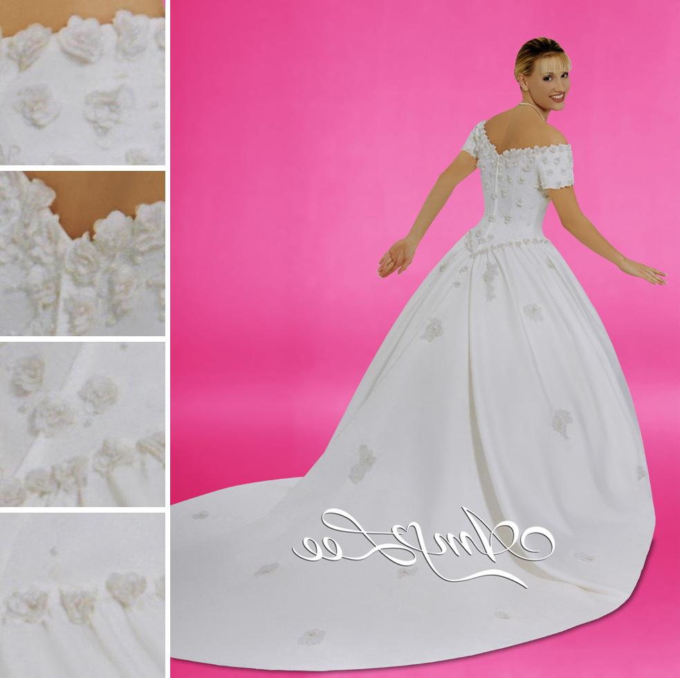 Amy Lee beaded wedding gown