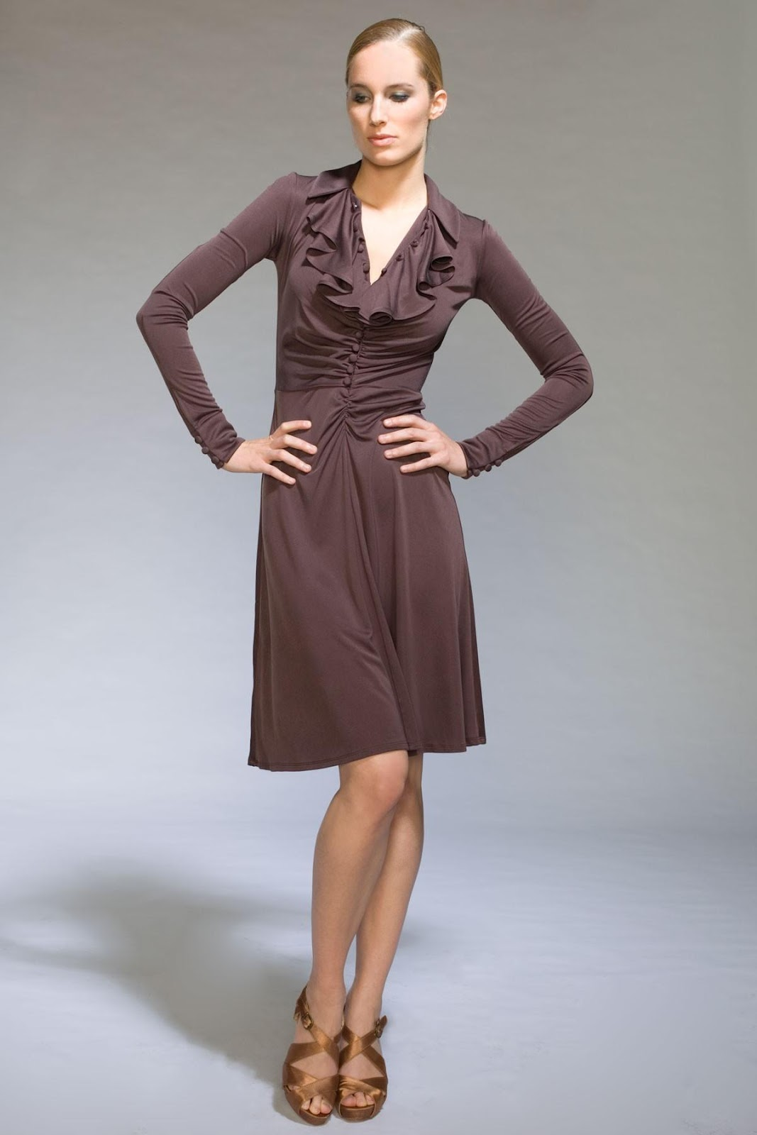 Silk Jersey Dress Jill Braun from jillbraun.com