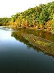 Lake Clopper, Seneca Creek State Park in Gaithersburg, Maryland.