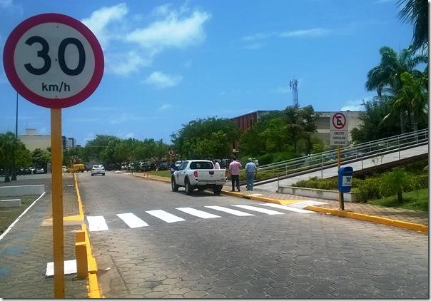 Sinalização Centro Administrativo do RN