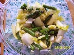 Asparagus & Endive Salad