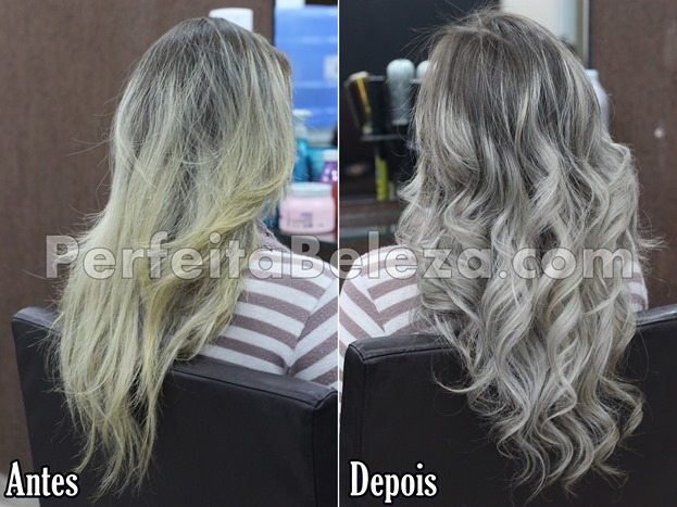 antes e depois do botox platinum isa hair