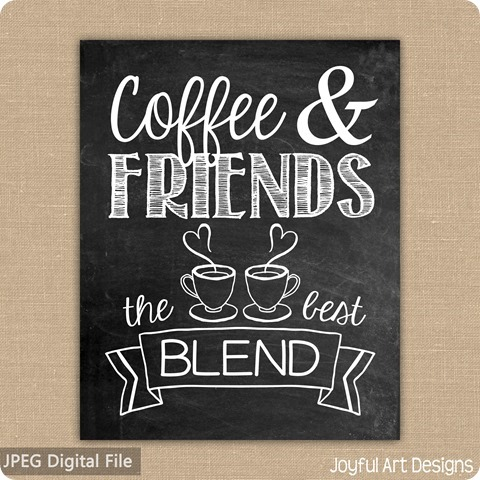 ETSY Coffee Friends