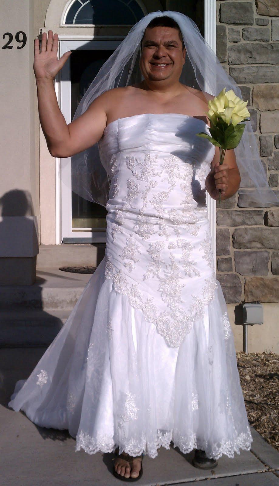 Funny wedding dresses