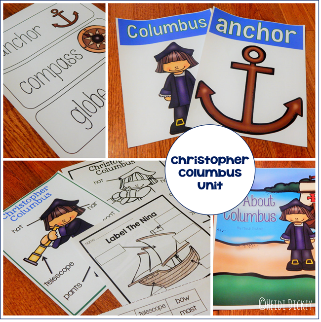 Christopher Columbus Thematic Unit