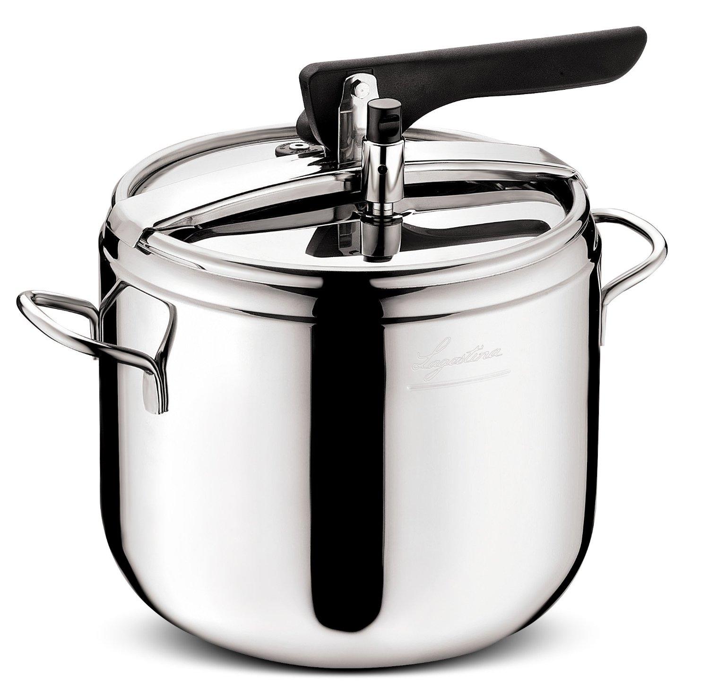 Lagostina irradial 010031013007 pentola a pressione da 7 litri - Pentola x cucinare a vapore ...