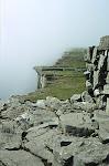 Rocks at Dún Aoghnasa Fort, Inis Mór Island, Southern Ireland.