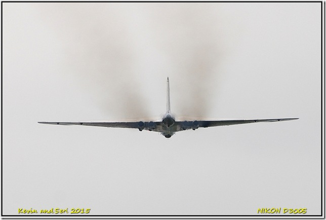Last tour of XH558 - Vulcan Bomber