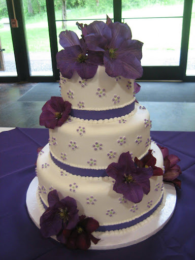Royal Purple Flower Wedding