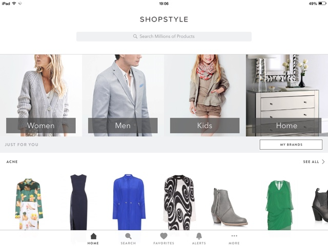 The Best Fashion Apps for Men & Women | Source: Shopstyle