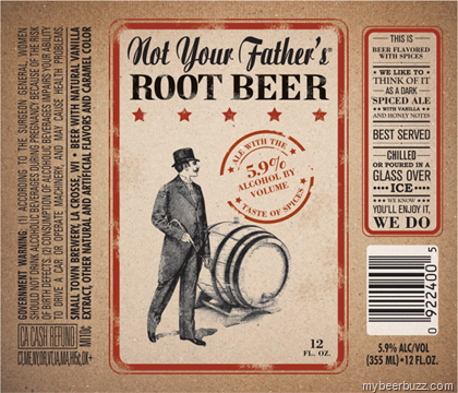 Town brewery not your father s root beer this alcoholic root beer will