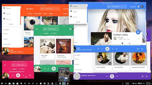 Google Music Desktop Player screenshot