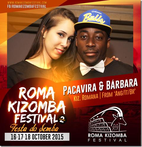 Roma Kizomba Pacavira & Barbara - Cultura Angola & Italia 2015