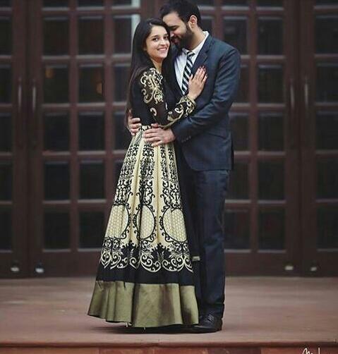 punjabi couple image