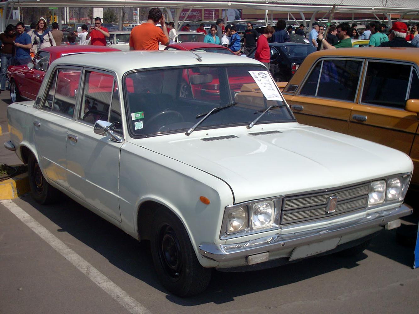Fiat 125 Special 1600     Chile. Cesko-Slovensk   motoristick   datab  ze