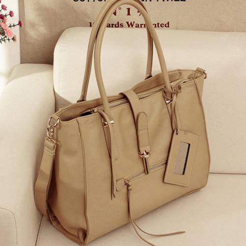 Women Looking Mirror Shopper Shoulder Bag Purse Tote F2181-11
