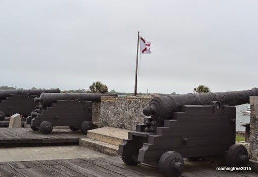 Protecting the front of the Fort