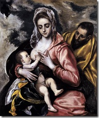 El_Greco_-_The_Holy_Family_-_WGA10467