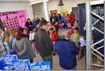 El intendente de La Costa, Juan Pablo de Jesús, encabezó una nueva entrega de netbooks de Conectar Igualdad