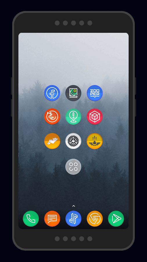 Dream Score ~ S8/Note8 Icon Pack Screenshot 1