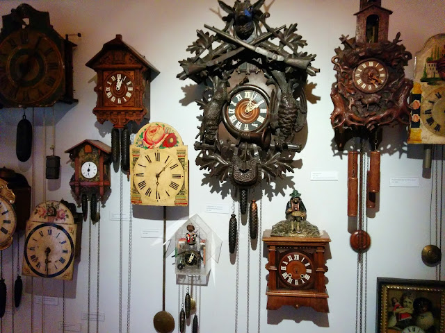 Cuckoo Clocks on display at the Schwarzwald Museum, Triberg