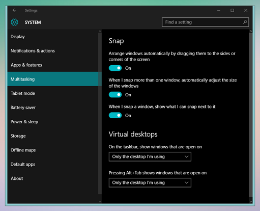 windows 10 dark theme or night mode2