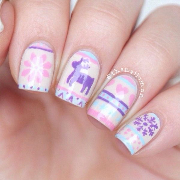Style File Best Christmas Nail Art Designs 2016