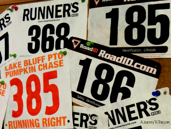 Make a race bib collage