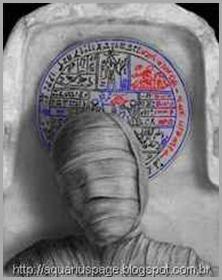 múmia-e-fac-simile-livro-de-abraão