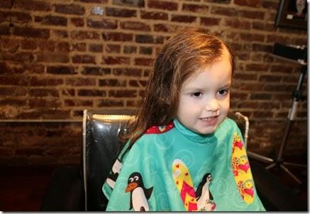 Zoey's First Hair Cut6