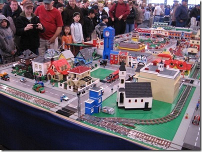 IMG_0832 Puget Sound Lego Train Club Layout at the WGH Show in Puyallup, Washington on November 21, 2009