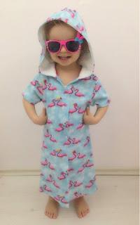 kız çocuk havlu elbise