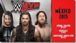 WWE live mexico 2015 venta de boletos primera fila baratos