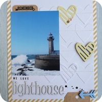 15 - sizzix big shot - scrapbookig layout - fustelle