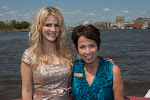 2013 NCAF Queen Jennifer Wayne and Donna Cameron