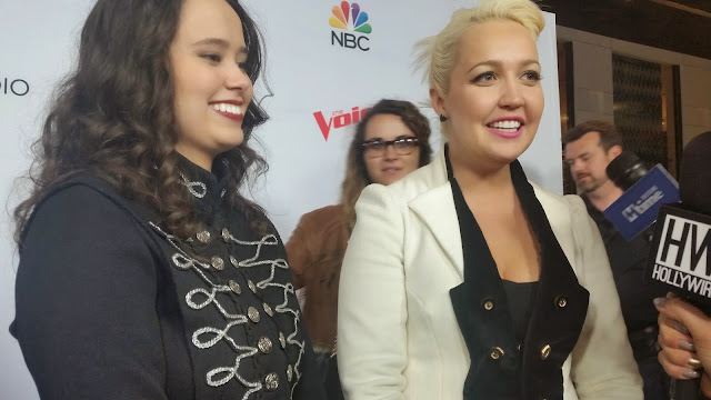 The Voice Season 8 Red Carpet, Top 8 Contestants