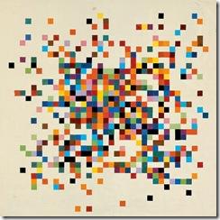 Ellsworth Kelly - Spectrum Colors Arranged by Chance