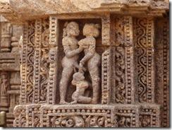 Kornak temple detail