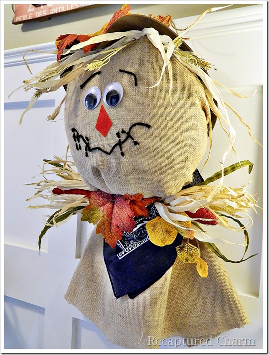 Burlap Scarecrow 22